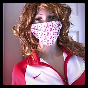 Accessories - Breast Cancer Awareness Face Mask💥Free w/Purchase